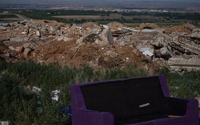 Amigos de la Tierra Aragón denuncia la escombrera de Ricla