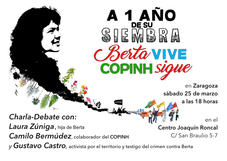 Berta Vive, COPINH sigue